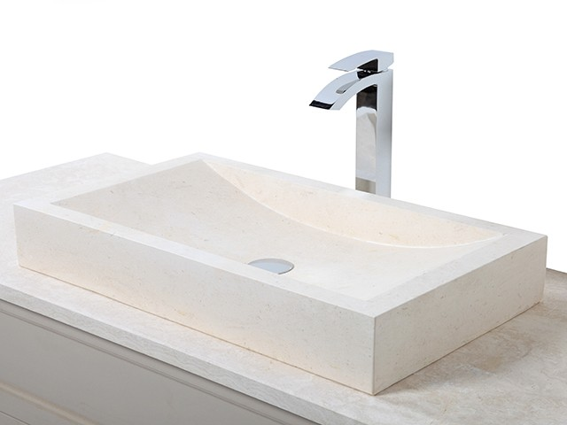 Style 9 Hand Crafted Natural Ice Beige Rectangular Basin(width 70cm depth 40cm Height 10cm)£385each
