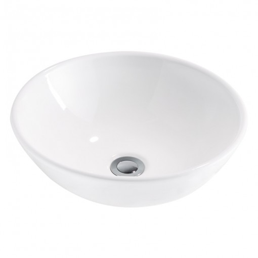 Ceramic White Round Basin (width 400mm height 160mm) £189each