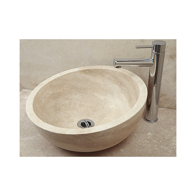 Style 1 Sloping Hand Crafted Natural Stone Bowl(width 420mm Height 180-120mm)£295each