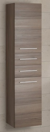 Gloss White Tall Storage Cupboard with Drawers (width 350mm height 1600mm depth 350mm)£525