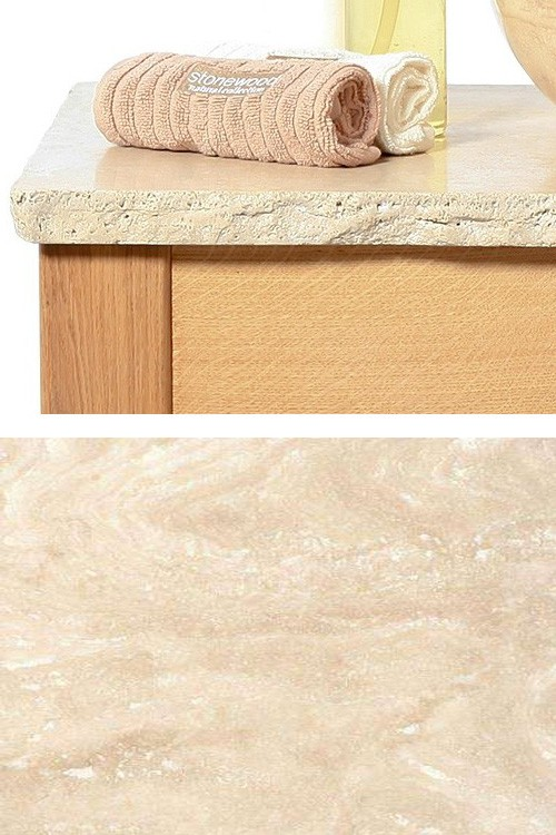 Beige Stone Top (Antique Edge)